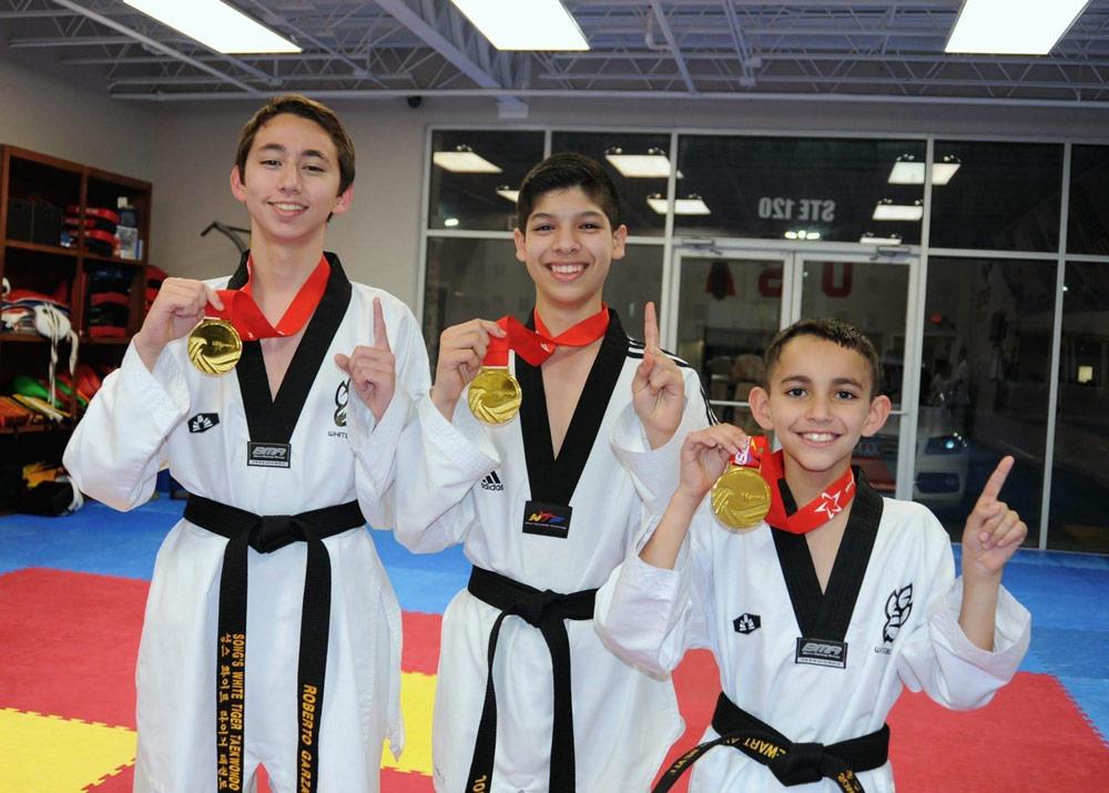olympic-sparring-taekwondo-students